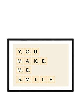 Really Nice Things Wandbild You Make Me Smile