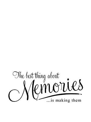 LO+DEMODA Wandtattoo Memories