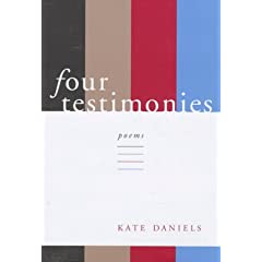 Four Testimonies: Poems (Southern Messenger Poets)