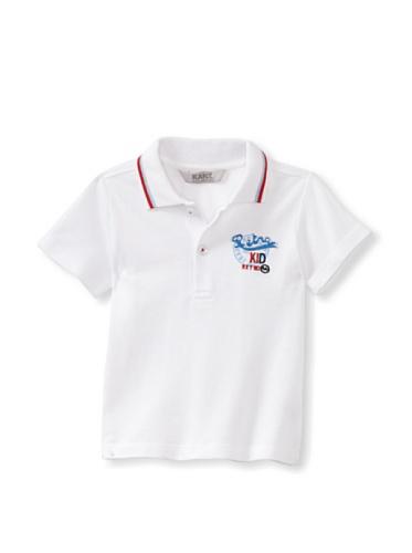 KANZ Baby Short Sleeve Polo (White)