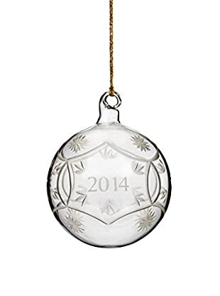 Marquis by Waterford Annual Ball 2014 Ornament, Clear