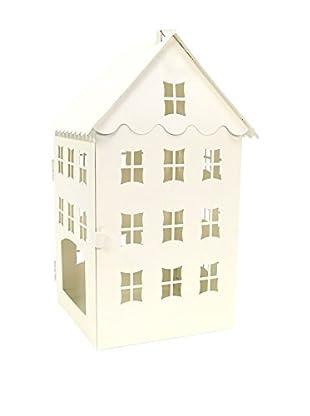 Figura Decorativa Navidad House Crema