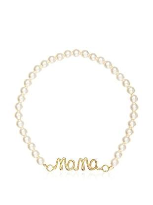 My Silver Pulsera Mama Oro Perla