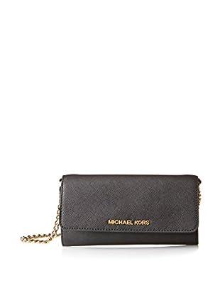 MICHAEL Michael Kors Women's Jet Set Travel Wallet, Black