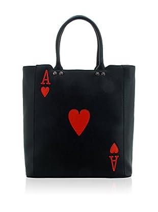 davidelfin Bolso shopping Ali Negro / Rojo