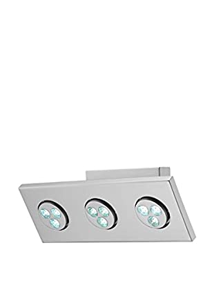 Lite Source Zella 3-Light LED Wall Lamp, Silver