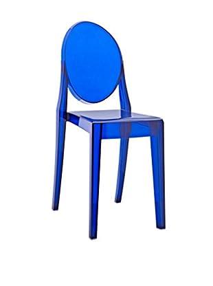 LexMod Casper Dining Chair, Blue