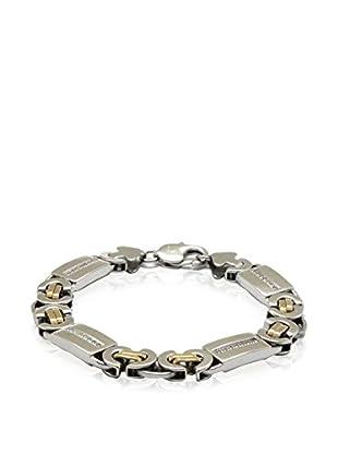 Blackjack Jewelry Armband Flat Byzantine Link 18K