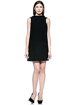 Annarita N Vestido Maniche (Negro)
