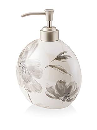 Creative Bath Opaline Lotion Bottle, Black/White