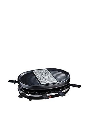 H.koenig Raclette für 8 Personen RP80 schwarz
