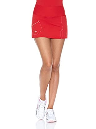 Naffta Falda Short Tenis / Padel (Rojo / Blanco)