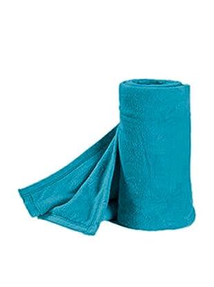 Pikolin Home Plaid Microfibra Tacto Coral (Azul)