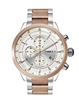 Timex Chronograph Silver Dial Men's Watch - TW000Y406