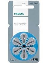 Siemens Hearing Aid Battery 675(36PCS)