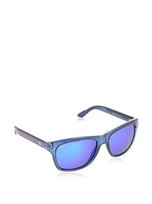 Gucci Sonnenbrille 3709/S Z0 65Q (57 mm) blau DE 57-17-145 (57-17-145)