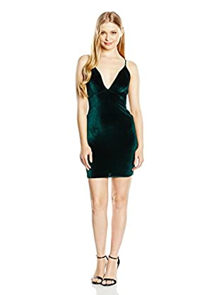Rare London Kleid Velvet Plunge