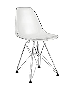 Modway Paris Kid's Chair, Clear