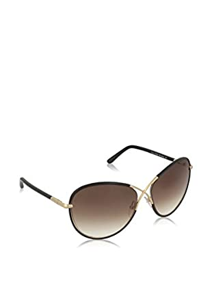 Tom Ford Gafas de Sol FT0344 MET 130_01B (62 mm) Negro