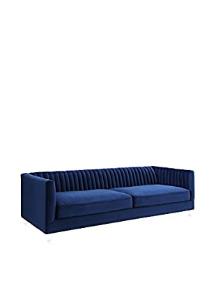 TOV Furniture Aviator Velvet Sofa