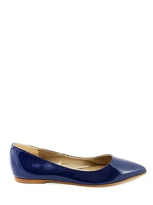 Eye Shoes Bailarinas Puntera Afilada (Azul)