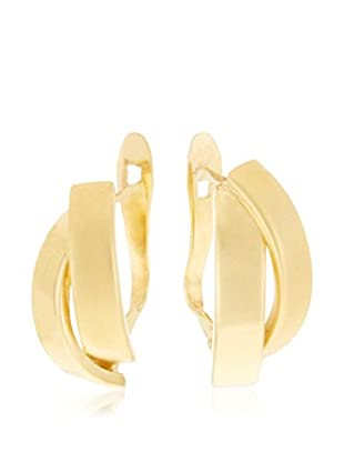 GOLD & DIAMONDS Pendientes oro amarillo 18 ct