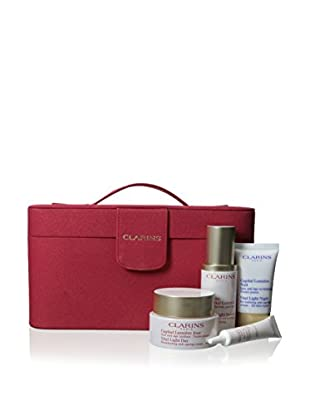 Clarins Vital Light Luxury 4-Piece Gift Set with Case
