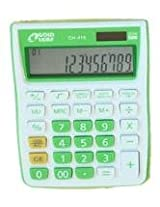 Gold Leaf Check and Correct Electronic Calculator 12 Digits CH 415