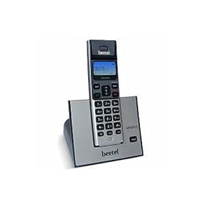 Beetel X62 Cordless Phone (Black/Silver)