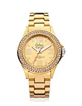 Colori Pure Metal Analog Gold Dial women's watch - 5-COL222