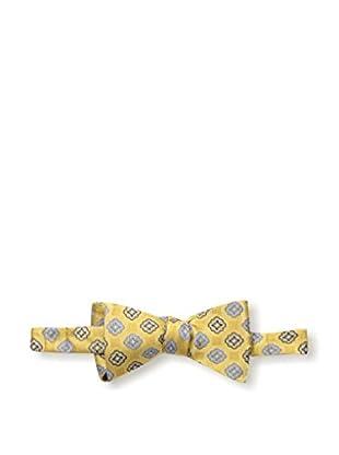Bruno Piattelli Men's Medallion Bow Tie, Gold