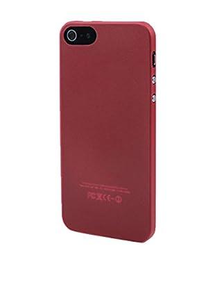 Unotec Hülle Antishock TPU Slim iPhone 5 / 5S rot