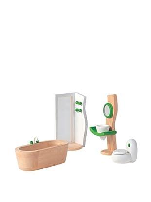 PlanToys Dollhouse Bathroom Décor