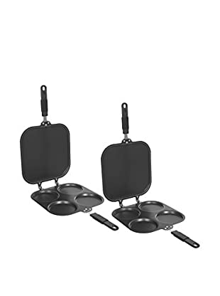 Chef Buddy Set of 2 Deluxe Perfect Pancake Maker Pans