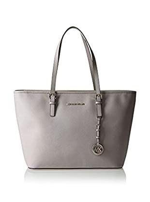 Michael Kors Bolso shopping Jet Set Saffiano Top Zip Travel Tote