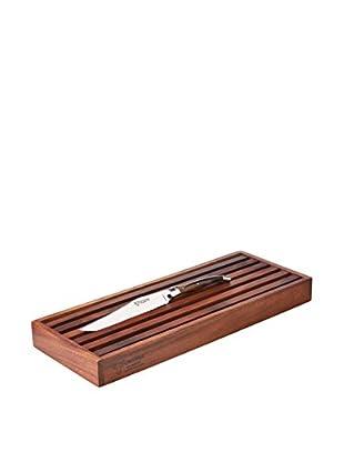 Laguiole en Aubrac Cutting Board Set with Bread Knife