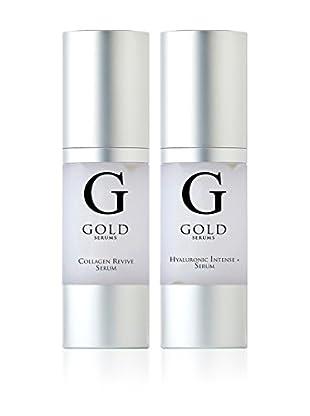 Gold Serums Gesichts-Regenerations Serum Intensive Hyaluronic Intensive + - Serum Kollagen Revive +