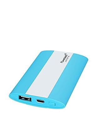 Powerseed Usb-Ladegerät PS-3000 mAh - Pocket azurblau