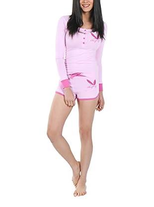 Play Boy Nightwear Pyjama Classic Bunny Ears