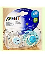 Philips Avent Night Time Soother 3-6m
