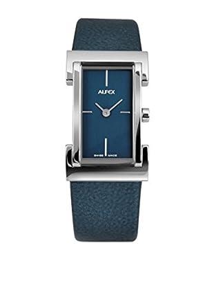 Alfex Quarzuhr 19 mm Blau