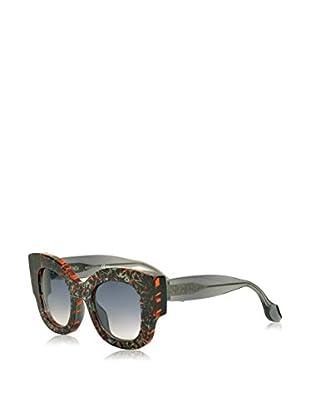 Fendi Gafas de Sol 0106/S GFD/LF (50 mm) Negro / Naranja