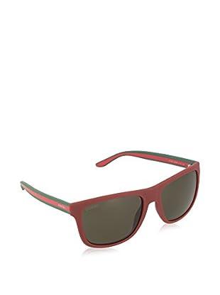 Gucci Sonnenbrille 1118/ S NR MQ8 (57 mm) rot/grün