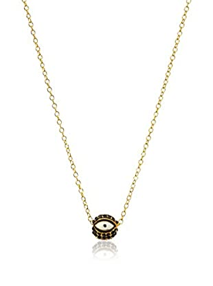 Gemelli 8 Evil Eye Necklace, Black