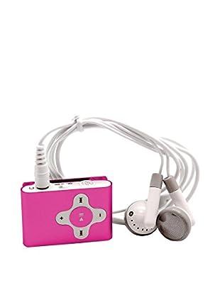 Unotec Reproductor Mp3 Clip Rosa
