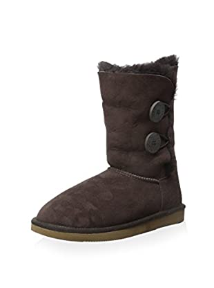 Pegia Women's Classic Short Boot with 2 Button Closure