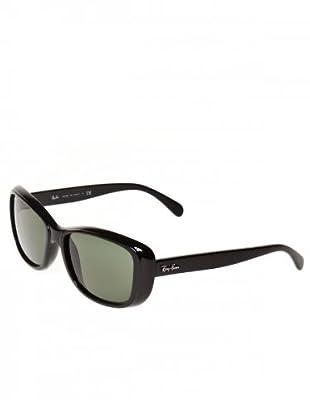 Ray Ban Sonnenbrille 4174 schwarz/grün