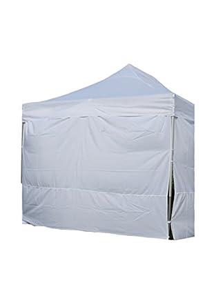 CARLO GUIDETTI Set cortinas laterales 4 UDS. Blanco