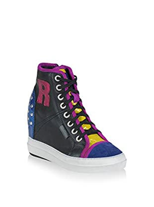 Ruco Line Sneaker Zeppa 4908 Soft Cuero