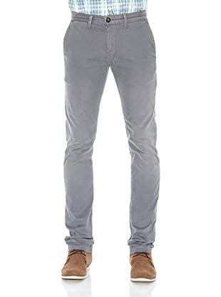Pepe Jeans London Pantalón Sloane (Gris)
